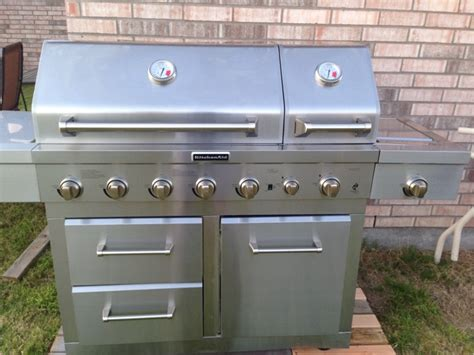 kitchen appliances for sale in wylie tx 5miles buy and kitchenaid 6 burner dual chamber gas grill in stainless