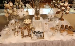 Zebra Themed Baby Shower Decorations Old Hollywood Candy Amp Dessert Table Gold And White