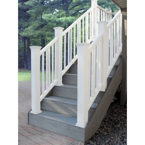 Exterior Handrail Kits installing a fusion stair kit
