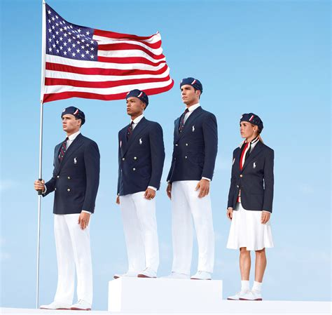 Ralph Olympic Collection For Usa Olympics Team by Ralph Olympic Uniforms 2012 Made In China