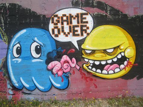 gaming street art  graffiti  love funstock news