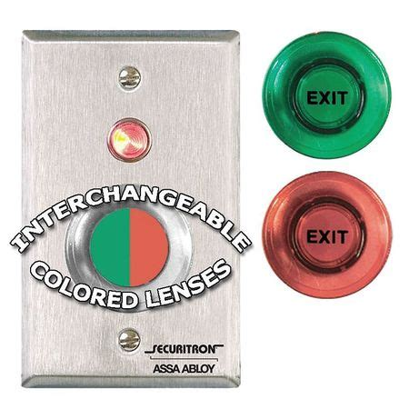 Promoo Push Button Exit securitron push to exit button wall mounted pb zoro