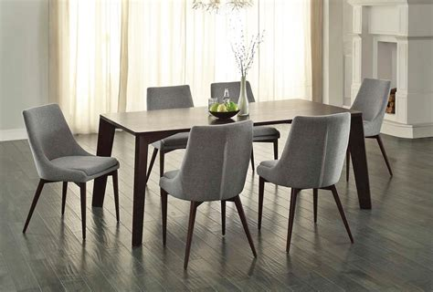 Modern Dining Table Los Angeles Fillmore Contemporary Dining Table Set