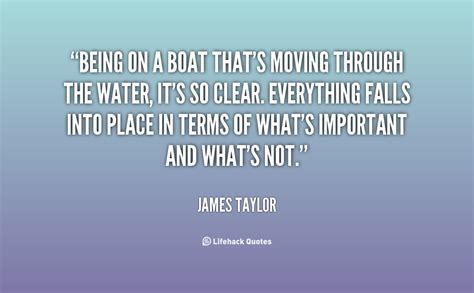 Crusie On Being A Quote by Quotes About Boats And Water Quotesgram