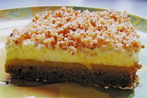 Schoko Kokos Kuchen Mit Mango Rezept Mit Bild