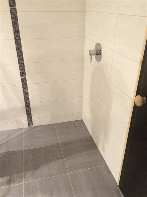 Dusche Ohne Duschwanne by Sauna Teil 7 Die Bodengleiche Dusche Hausbau Ein Baublog