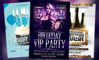 download the best birthday party flyer templates for