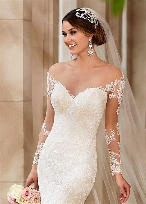 Wst 7760 One Sleeve Mermaid Maxi Dress 325 best images about detachable wedding gown straps sleeves keyhole backs and