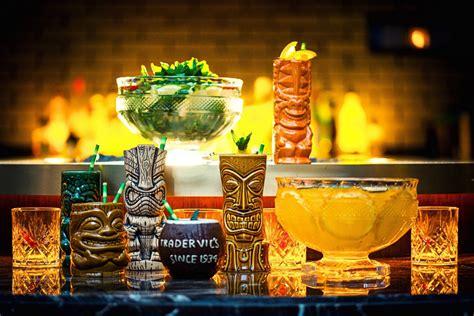 Tiki Bar Cocktails Tiki Thursday At Jing Bar The Temple House Petrie Pr