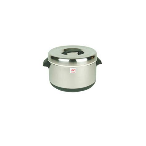 Thunder Group 40 Cups Stainless Steel Insulated Sushi Pot
