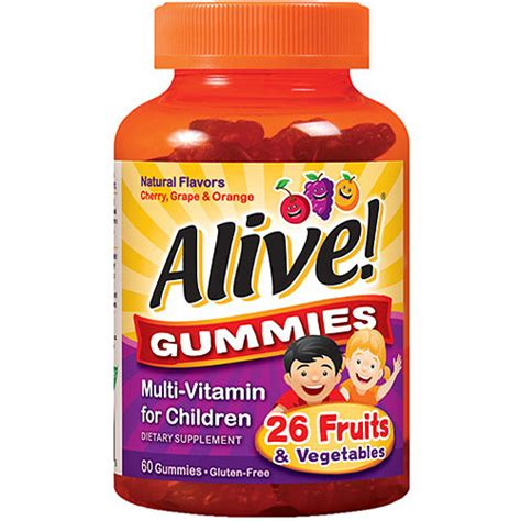 creatine gummies nature s way alive multi vitamin dietary supplement