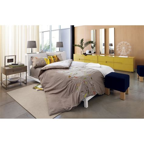cb2 bedroom latitude grellow low dresser in bedroom furniture cb2