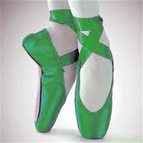 green ballet slippers urgent blue green yellow pointe shoes pointe shoes