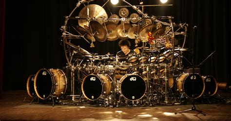 best drum in the world terry bozzio on touring the world s largest tuned drum kit