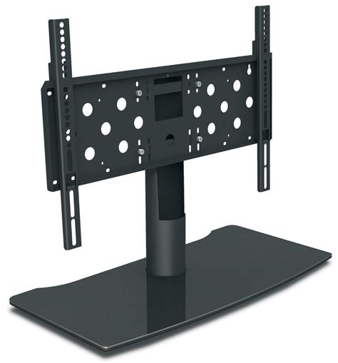 desk and tv stand mountech mtd5 large universal table top stand