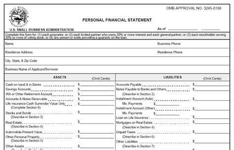 financial report template free personal financial statement template free 2016 sanjonmotel