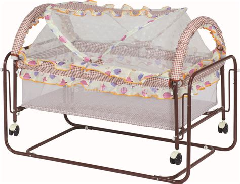 baby bed swing hot sale simple iron frame baby bed baby crib swing bed