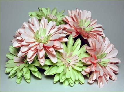 Flower Ideas With Paper - ca diy wedding flower trend the paper flowers idea