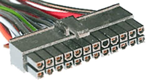 Cable Molex To 4 Pin Atx Motherboard Mobo Power Cable atx btx motherboard power 24 pin ver 2 x 183 allpinouts