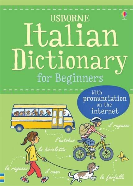 libro italian for beginners book italian dictionary for beginners at usborne children s books