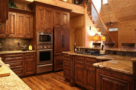 lodge kitchen rustic home project 1 walker woodworking