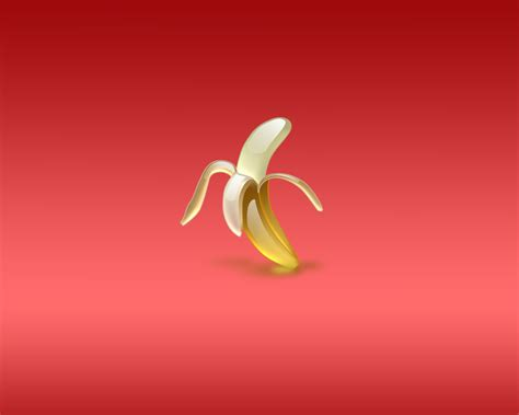 banana wallpaper download download wallpaper hulled banana on red background