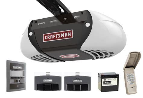 craftsman  hp belt drive smart garage door opener