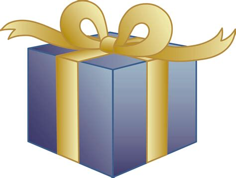 Awesome Favorite Christmas Presents #9: Cartoon-birthday-present-clipart.png