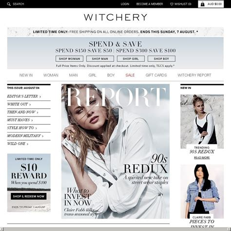 Sale A Licious Spend 100 Get 50 At Pacsun by Witchery Sale Spend 150 Save 50 Spend 300 Save
