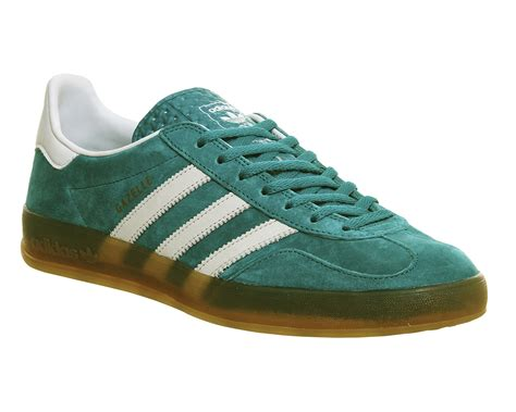 Adidas Slop Canvas Green buy cheap green gazelle adidas shop off30 shoes