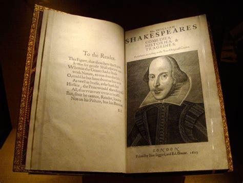 shakespeares  folio exhibit  chazen museum  art door shakespeare