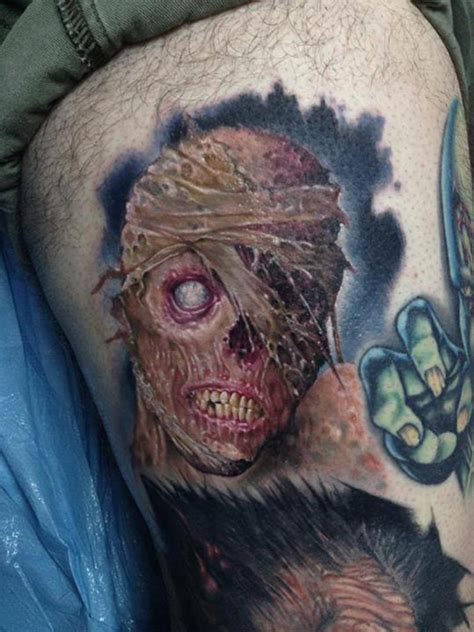tattoo zombie pictures tattoos de zombie y cr 225 neos taringa
