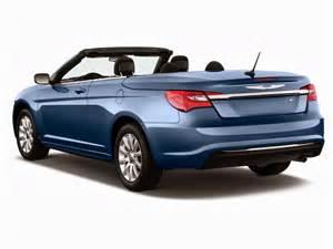 2014 Chrysler 200 Convertible 2014 Chrysler 200 2 Door Convertible Touring Angular Rear