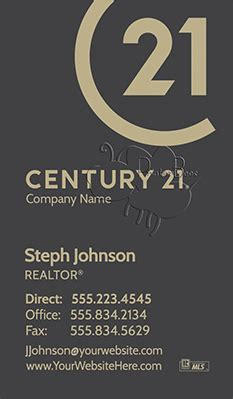 Diy Century 21 Business Cards Template by Century 21 Business Cards 69 99 Professionally Designed