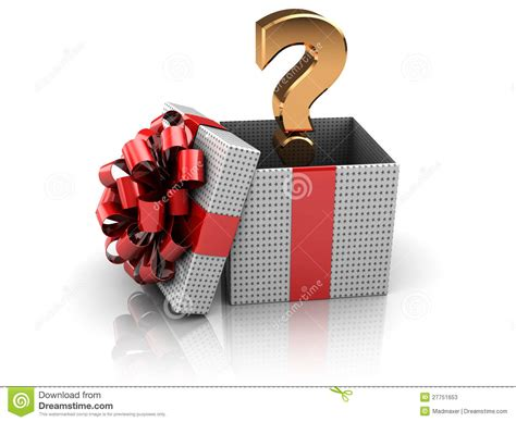 surprise present stock photos image 27751653