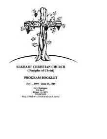 free templates for church programs best photos of american church program templates