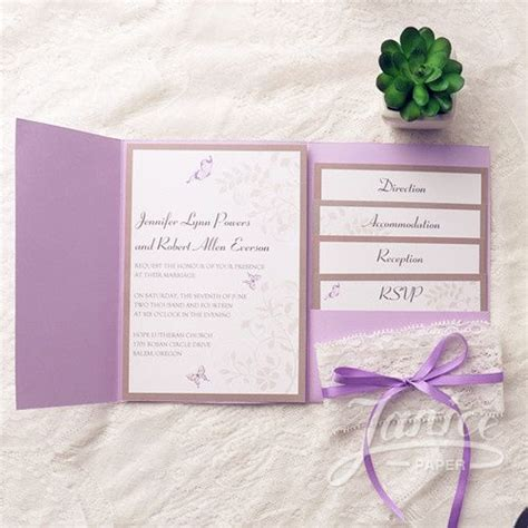 lavender wedding invitation cards 25 best ideas about butterfly wedding invitations on