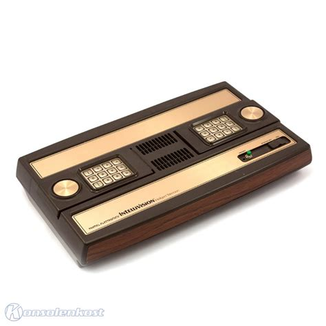 intellivision console intellivision console gamepad equipment mattel ebay
