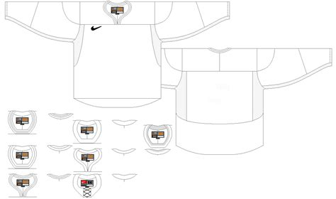 Templates Hockeyjerseyconcepts Adidas Hockey Jersey Template