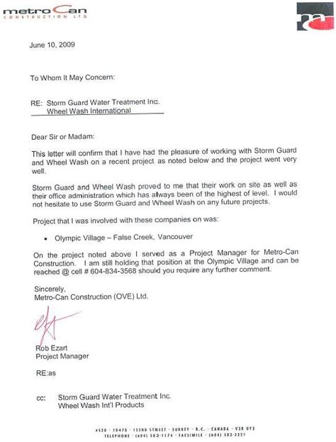 Business Letter Attached File guard water treatment inc and wheel wash