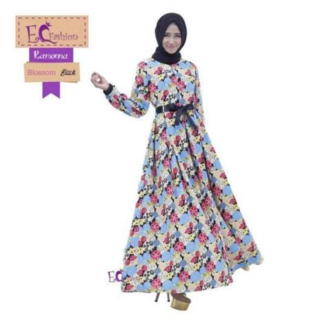 Baju Blossom Syari Amara 1 ramonna blossom dress baju muslim