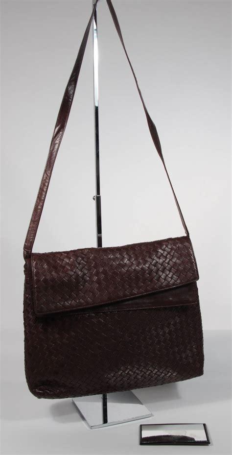 Deal Bottega Veneta Woven Handbag 48 by Bottega Veneta Large Woven Rich Brown Vintage Leather