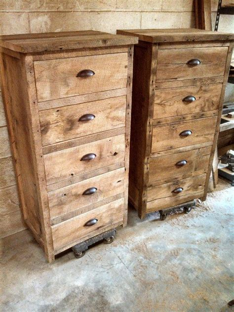 Barn Wood Dresser by Your Custom Rustic Barn Wood 24 Quot Wide Dresser