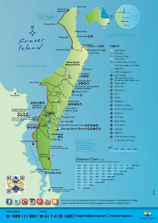 eurong resort map eurong resort fraser island by kingfisher bay resort
