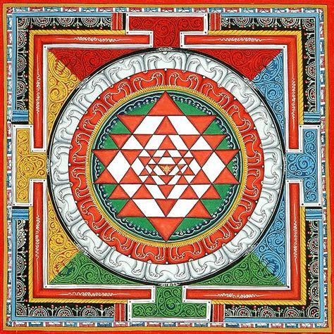 sri yantra mandala traditionalartofnepal com