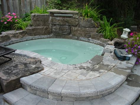 above ground bathtub in ground and above ground hot tub ideas