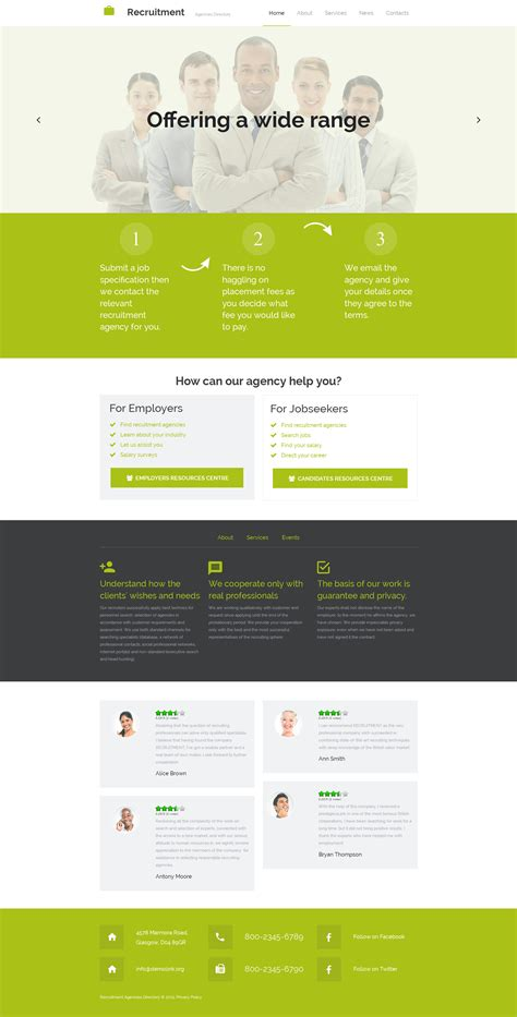 html themes for job portal job portal website builder responsive moto cms 3