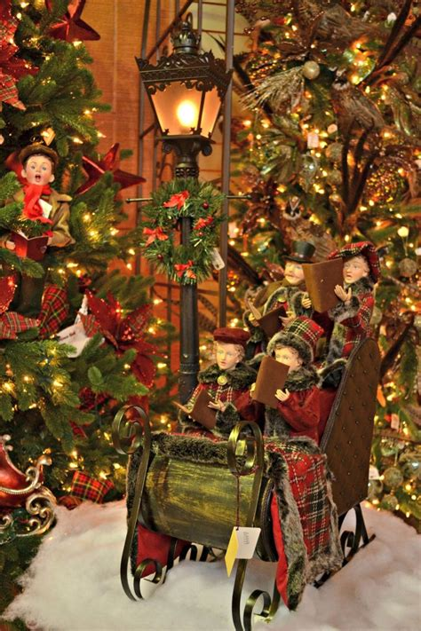 Carolers Yard Decorations - 17 images about sleigh on