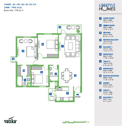 lifestyle homes floor plans vatika lifestyle homes archives floorplan in