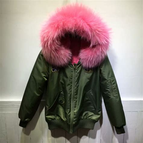 Jaket Wanita Winter Merah merah muda bulu jaket promotion shop for promotional merah